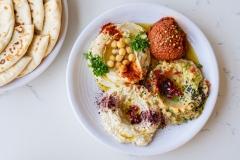 Simsim-Hummus-Muhammara-Moutabel-Baba-Ghanoush
